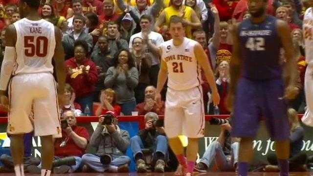 Freshman helps ISU snap losing streak