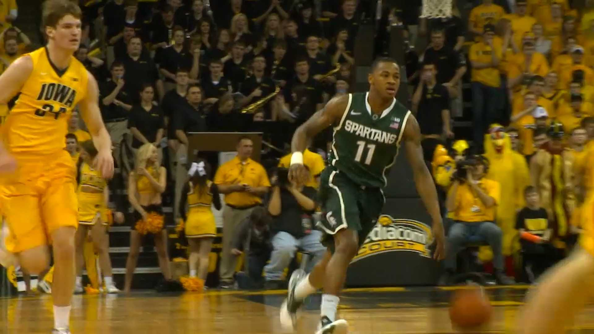 Keith Appling Michigan State basketball