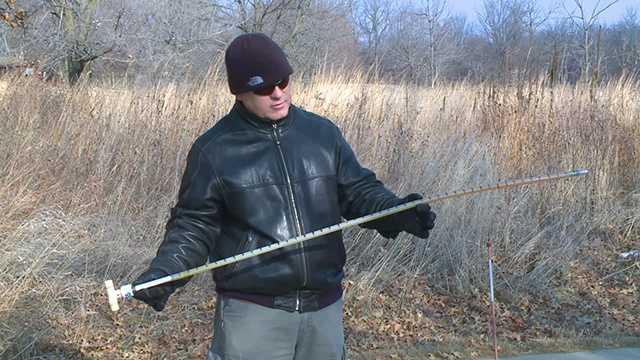 frost depth measurement