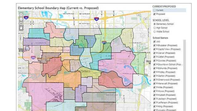 Des Moines Public Schools elementary boundary changes