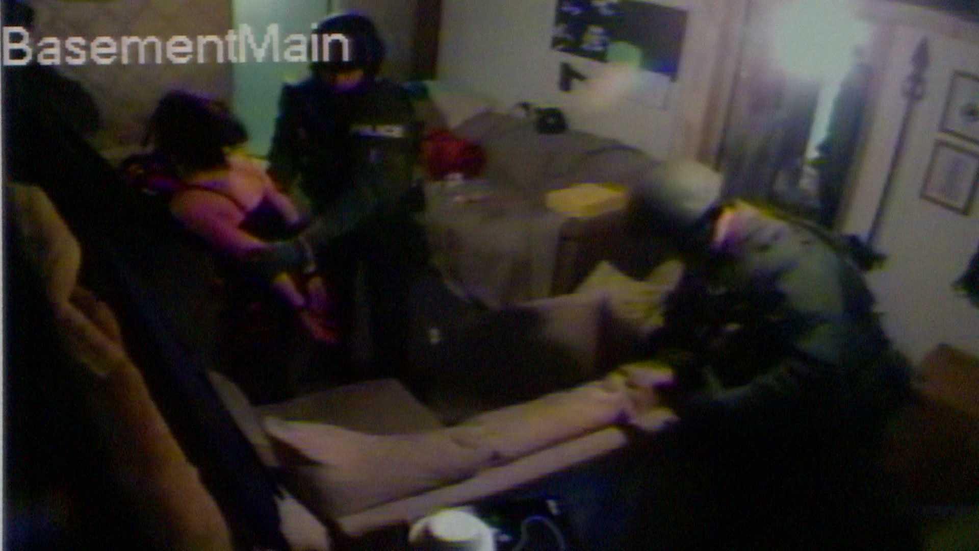 Police Raid video still