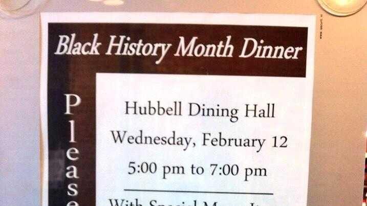 Students sour over 'Black History Dinner' at Drake University