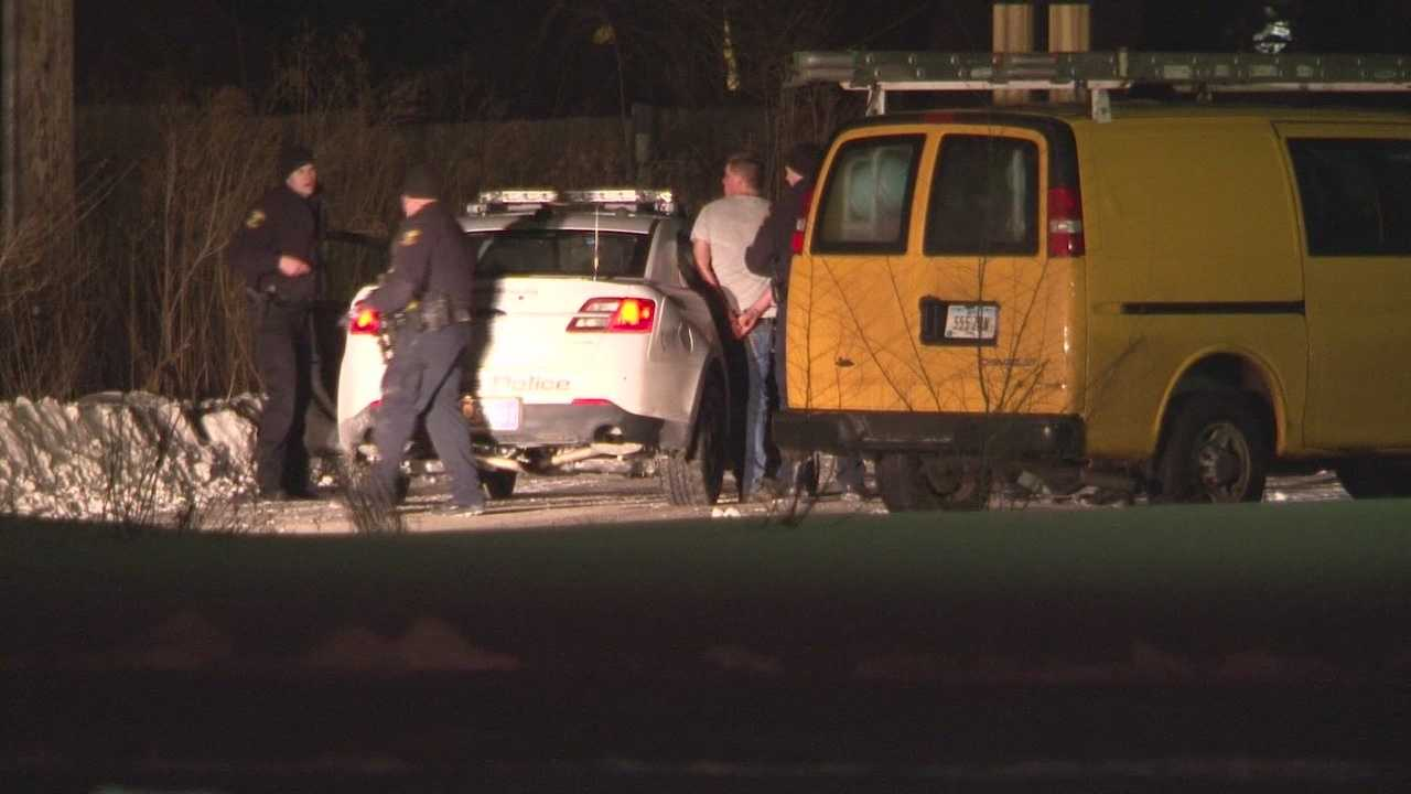Standoff ends with man in custody