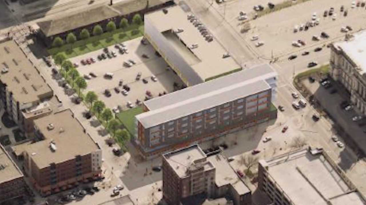 Downtown Hy-Vee concept approved
