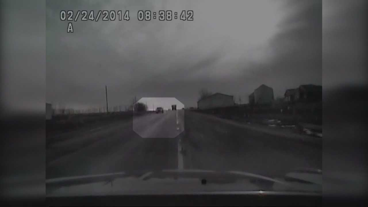 Man leads authorities on high-speed pursuit because he 'panicked'