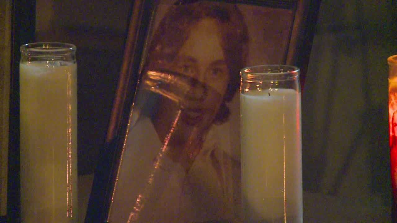 Vigil held after arrest in cold case