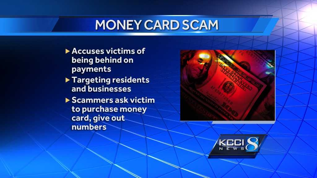 Money Card Scam