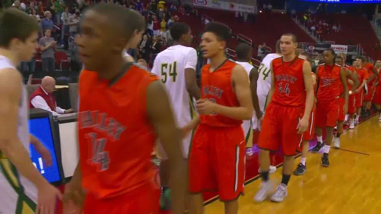 Valley falls in 4A Title Game