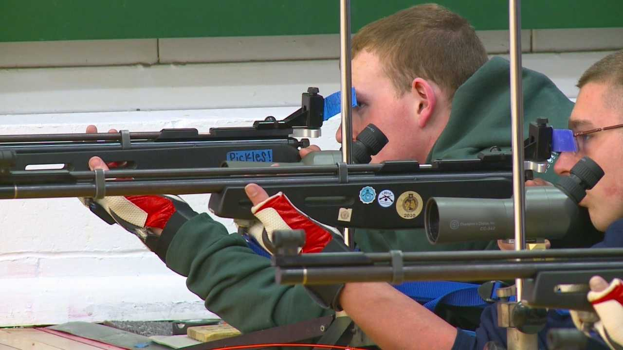 The team has trained every day at the rifle range.