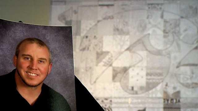 Ankeny students honor custodian with wall of art