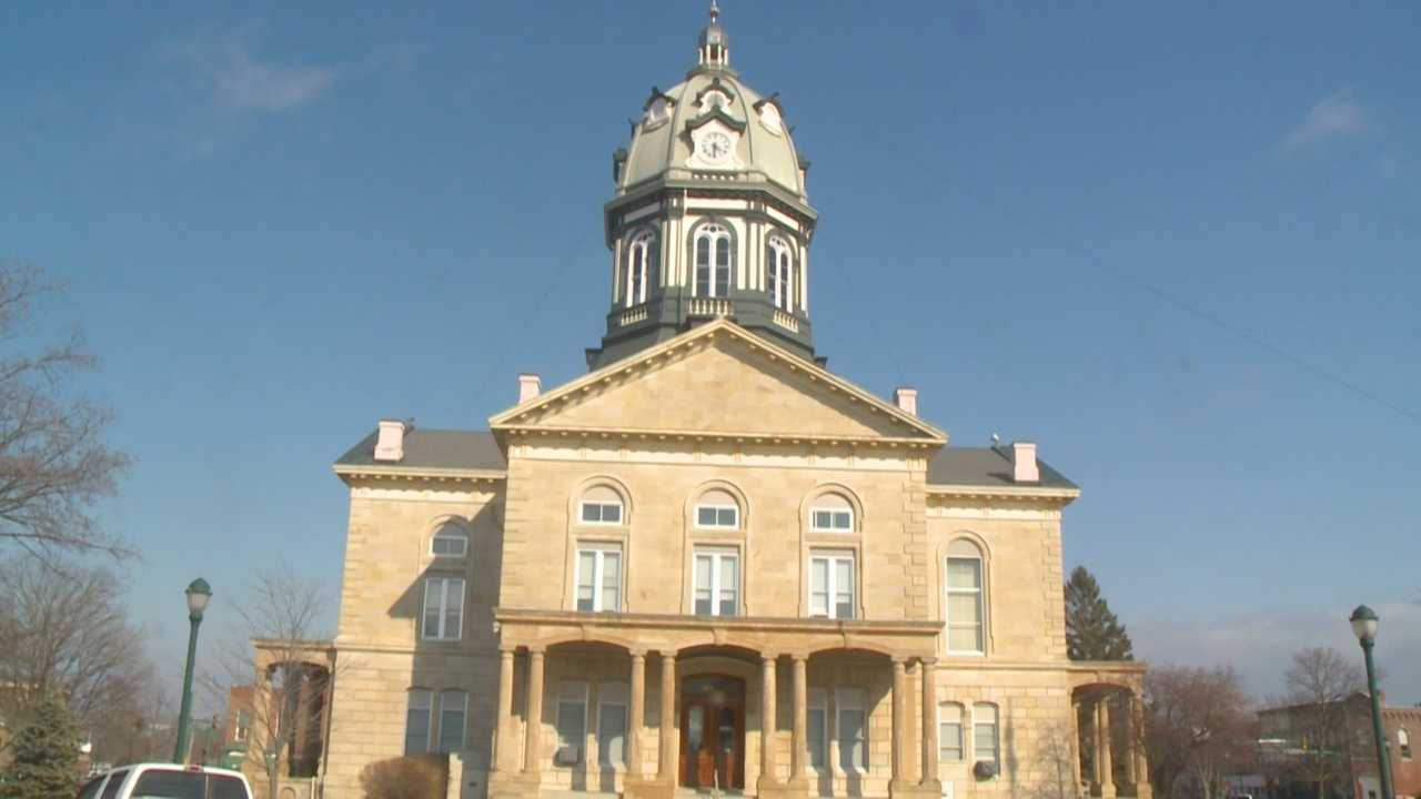Gun incident at Madison County Courthouse