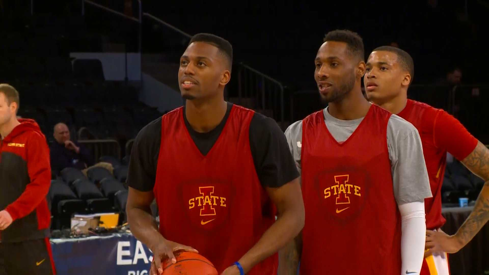Ejim and Kane have their sights set on the Elite Eight.