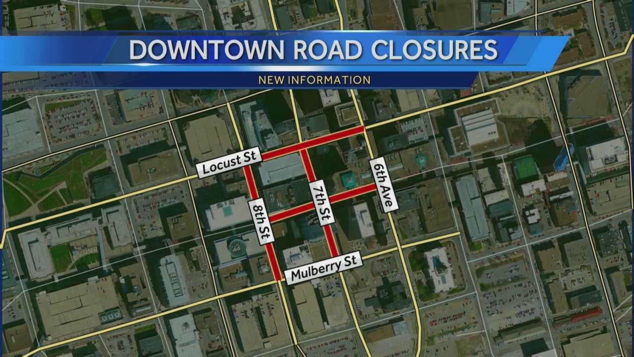 Des Moines downtown streets closed after Younkers fire