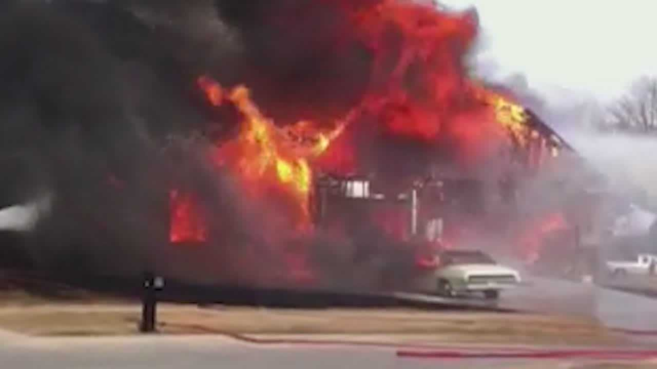 Norwalk home destroyed by fire