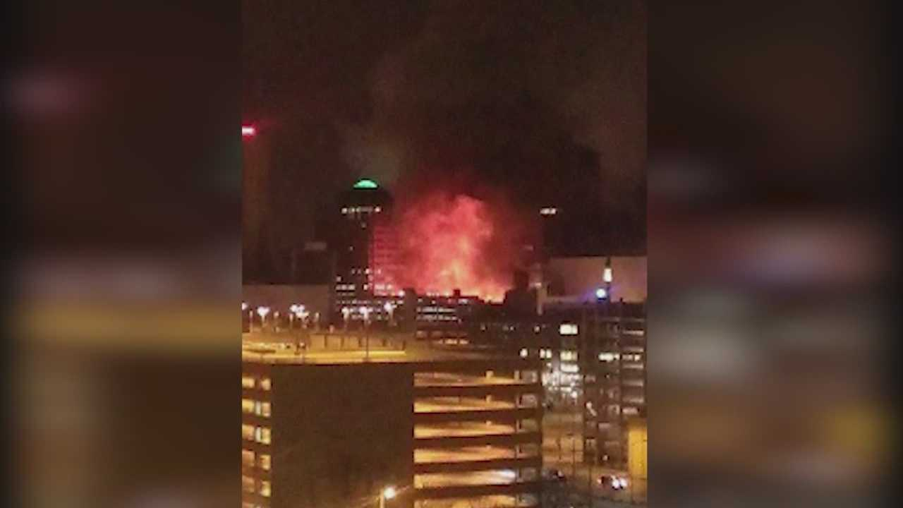 Officials ask for any social media for Younkers fire