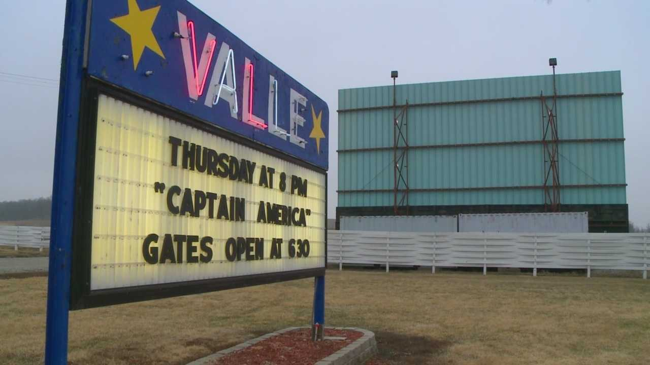 Valle Drive-In getting ready to open up
