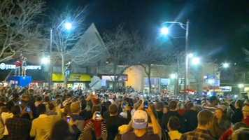 Riots broke out overnight during the VEISHEA celebration at Iowa State University.