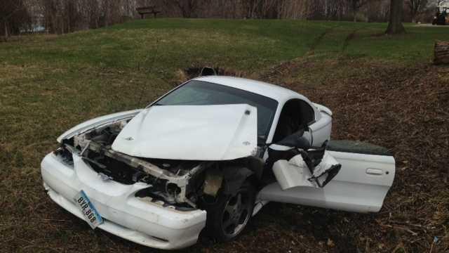 golf course crash 3