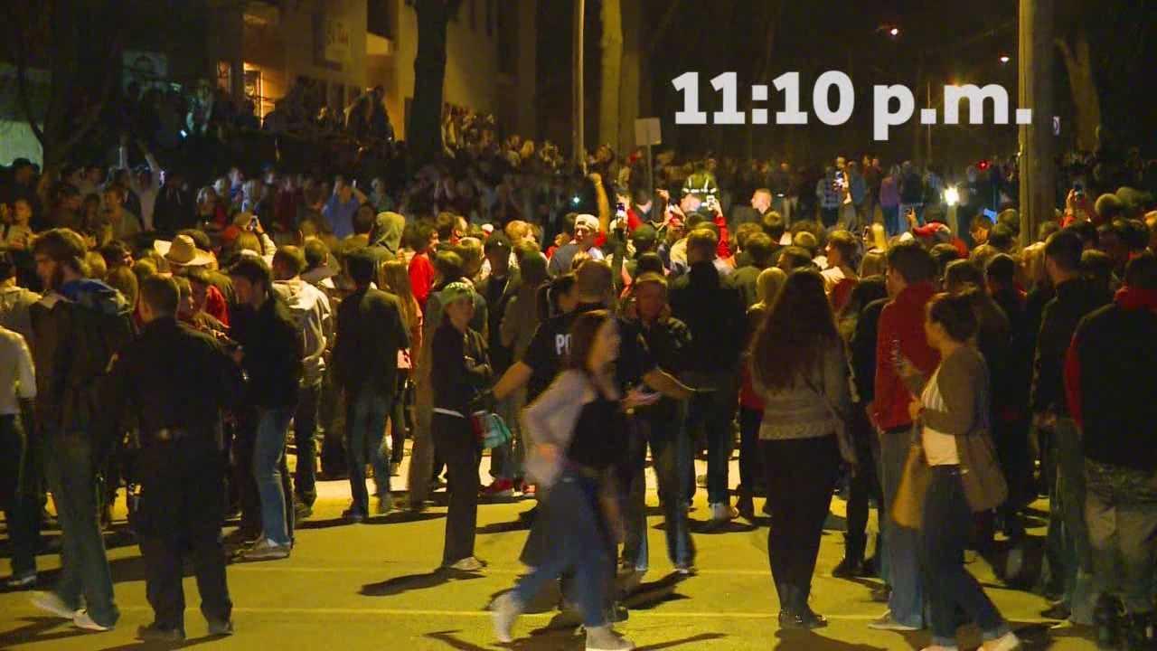 Dispatch radio tells tale of VEISHEA riot