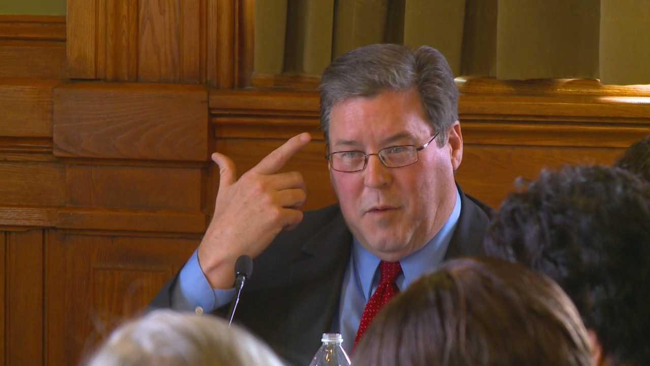 Board president says he felt like he had a gun to his head