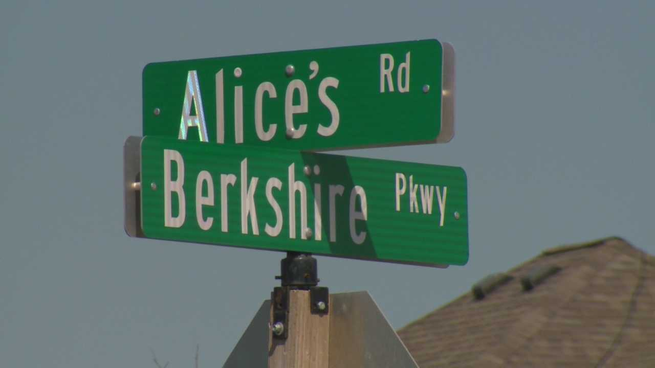 Plan would rename Alice's Road