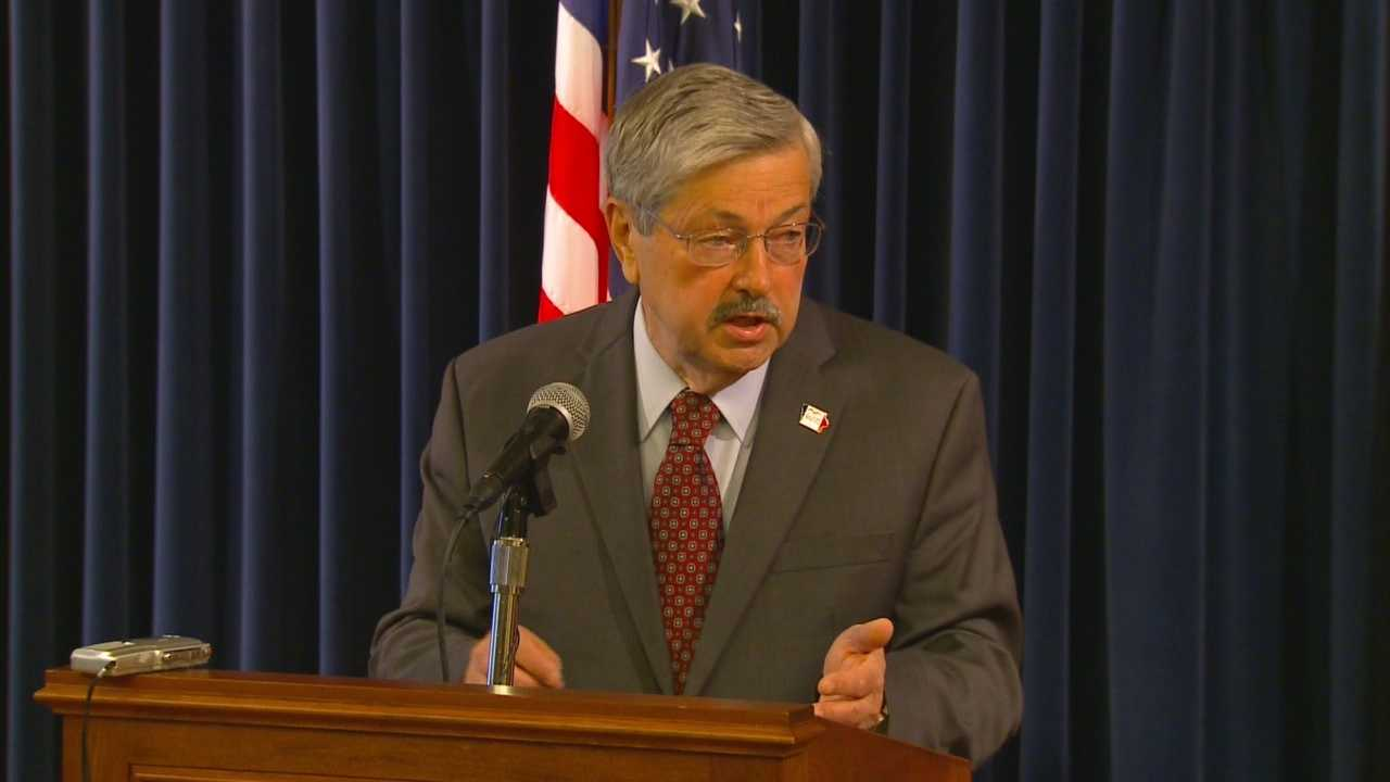 Branstad discusses Oversight Committee's new subpeona power