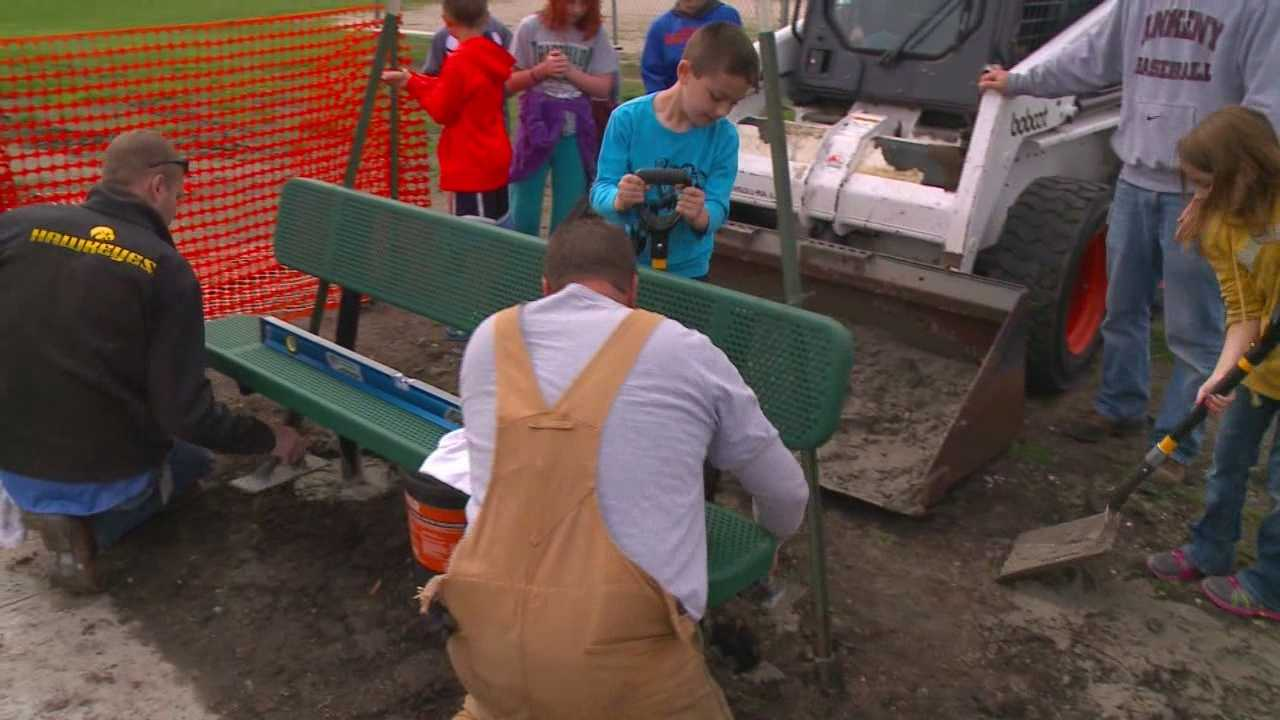 School adds new buddy benches