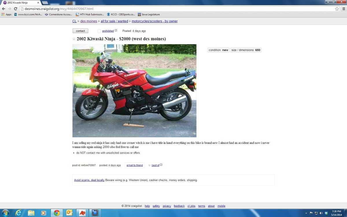 Craigslist Cars For Sale In Des Moines Iowa