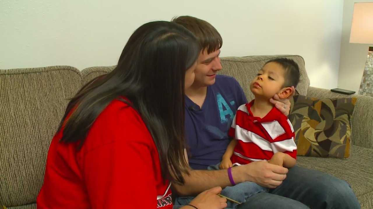 Iowa family moves to Colorado to get help for their son