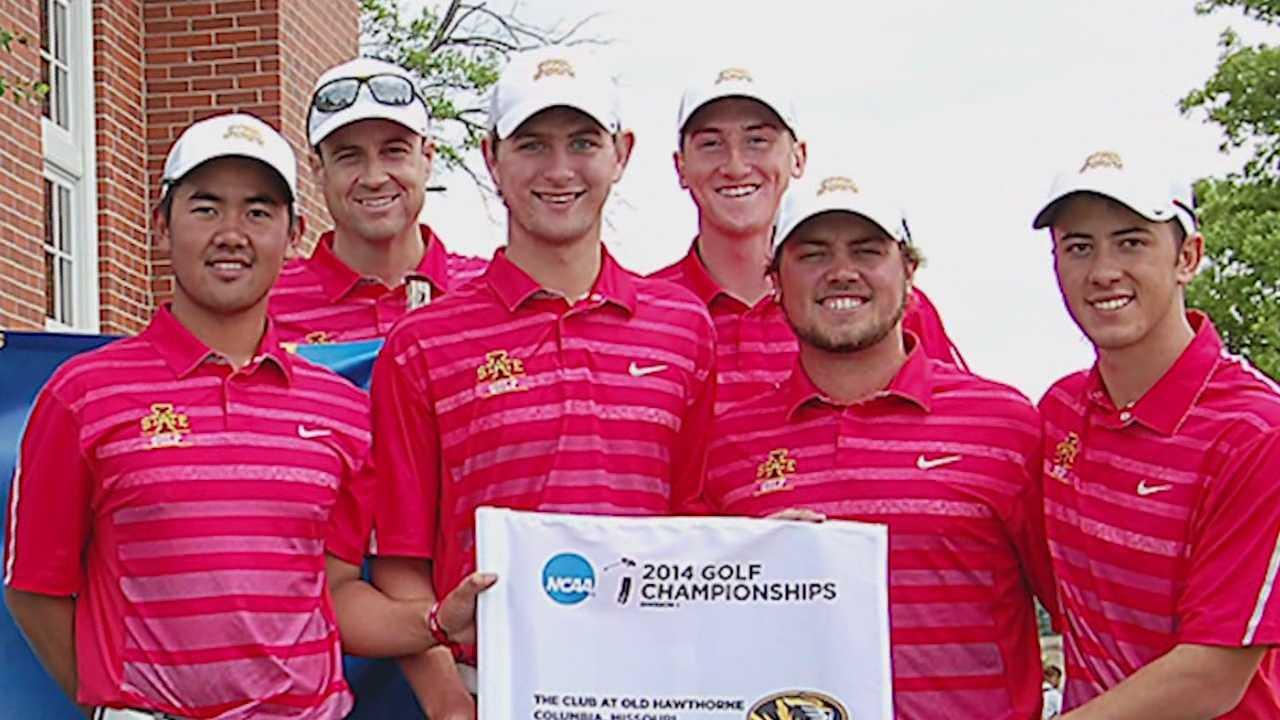 ISU golf team make history despite freak accident