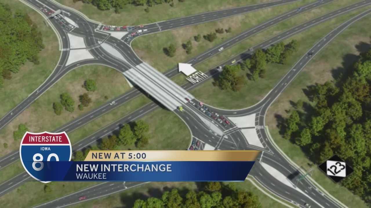 Divergent Diamond interchange design