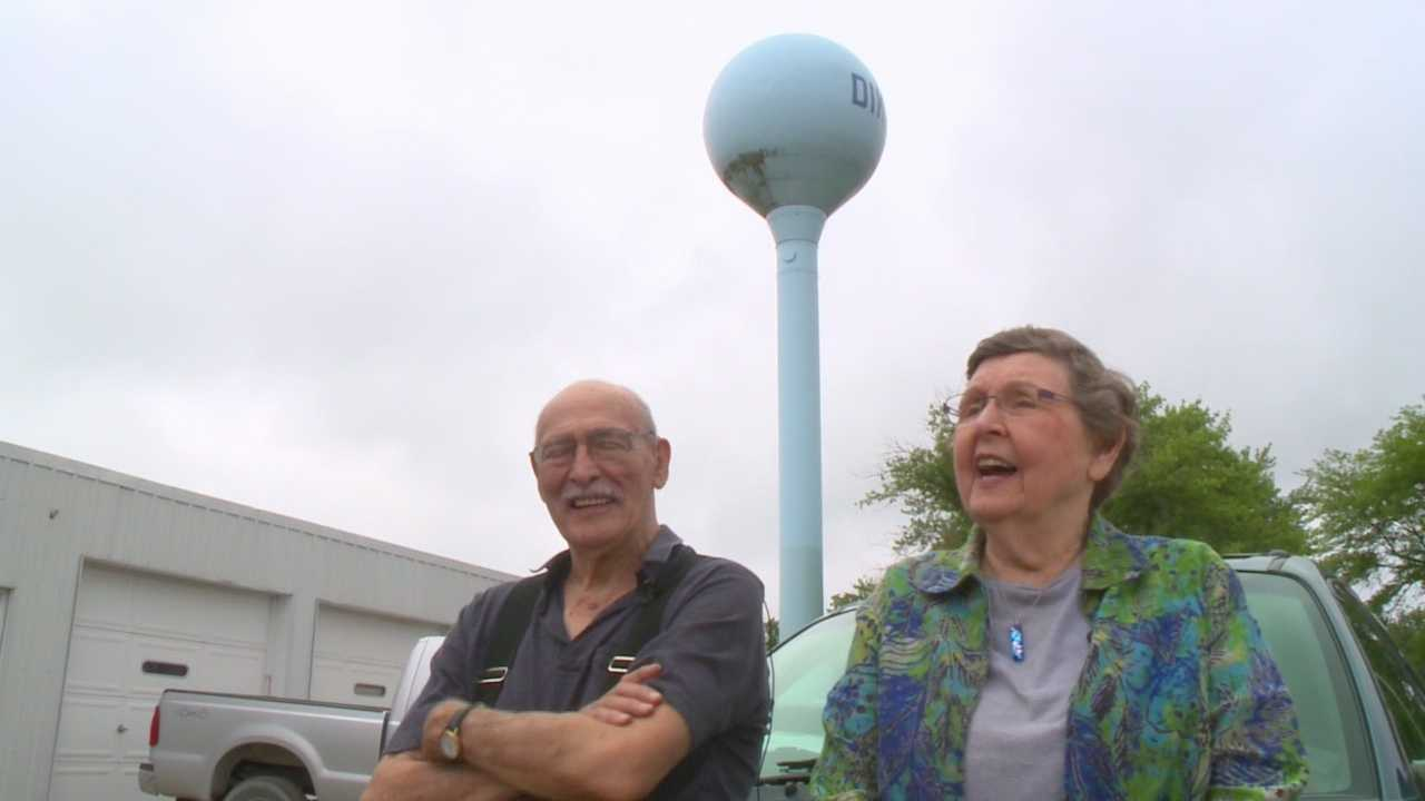 This is Iowa: Water tower tourists