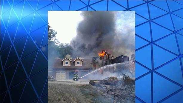 Van Meter house fire