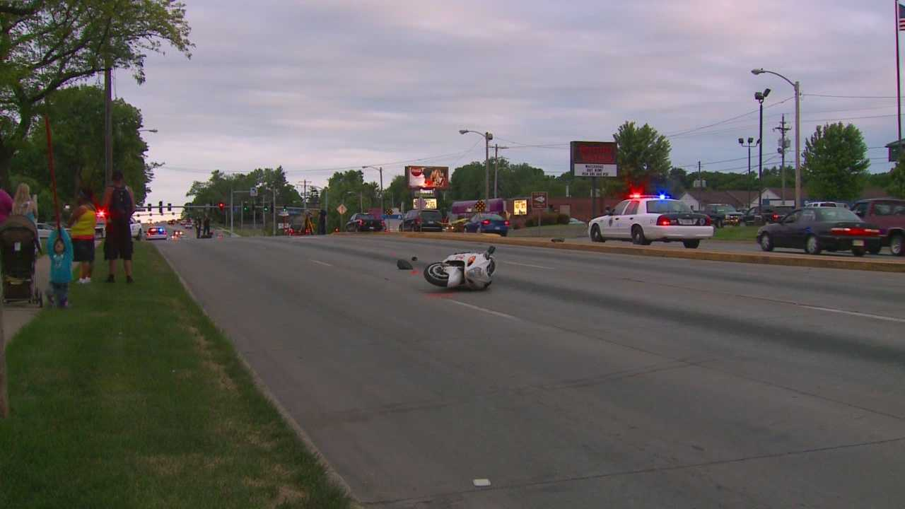 Motorcyclist dies after collision with SUV