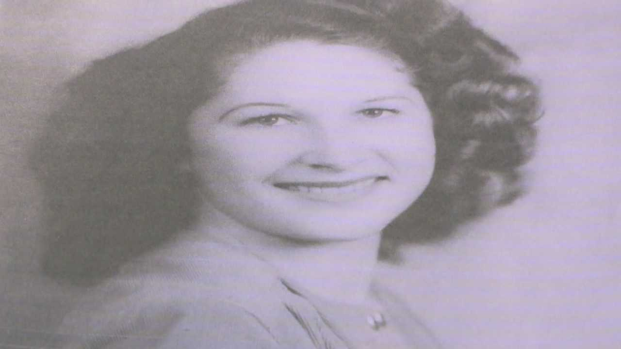 Police dig up a basement looking for the body of a woman who vanished in 1960.