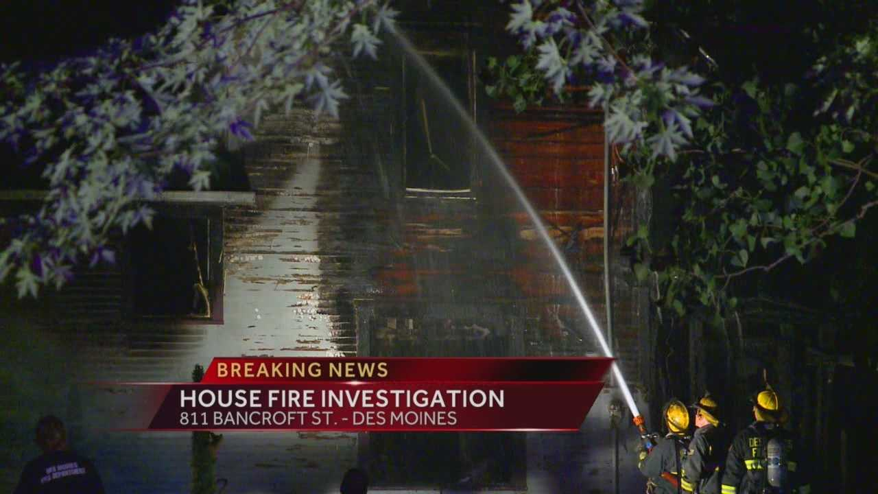 Overnight fire destroys home