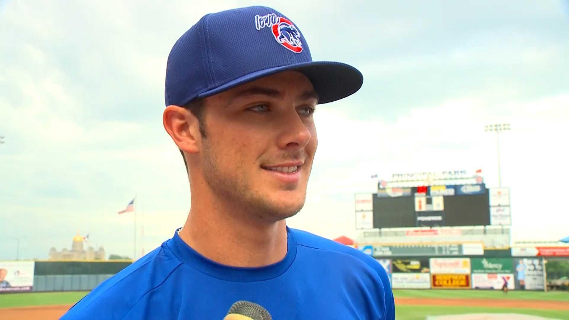 Iowa Cubs 3rd baseman Kris Bryant