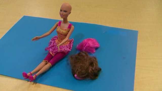 Chemotherapy Barbie doll