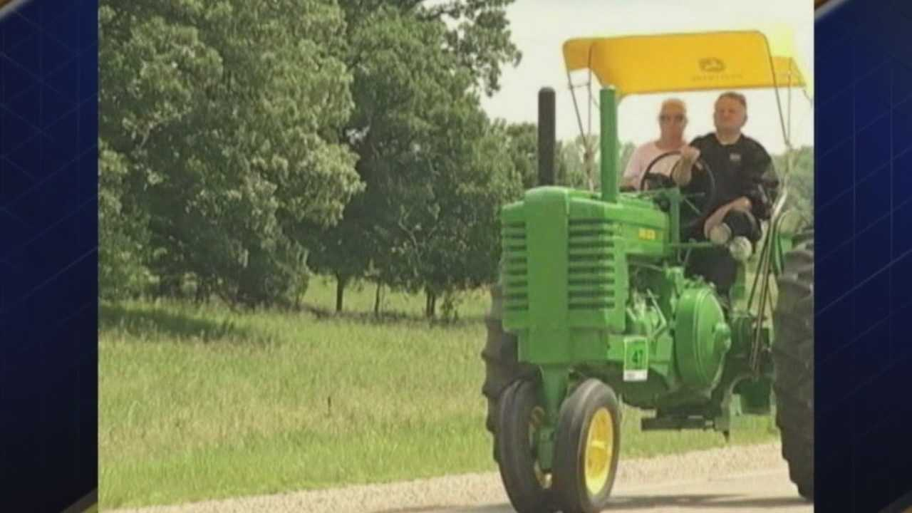 Over 400 tractors in 18th Annual Tractor Ride