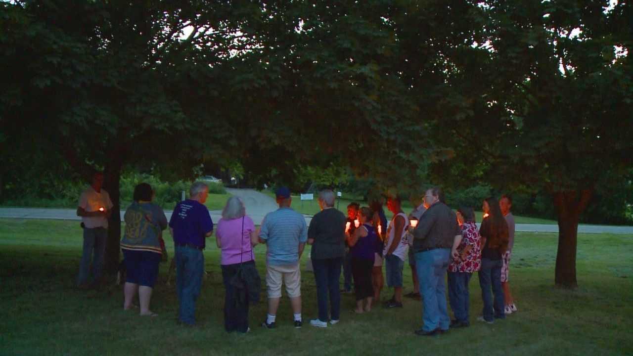 Vigil for Rupert Anderson