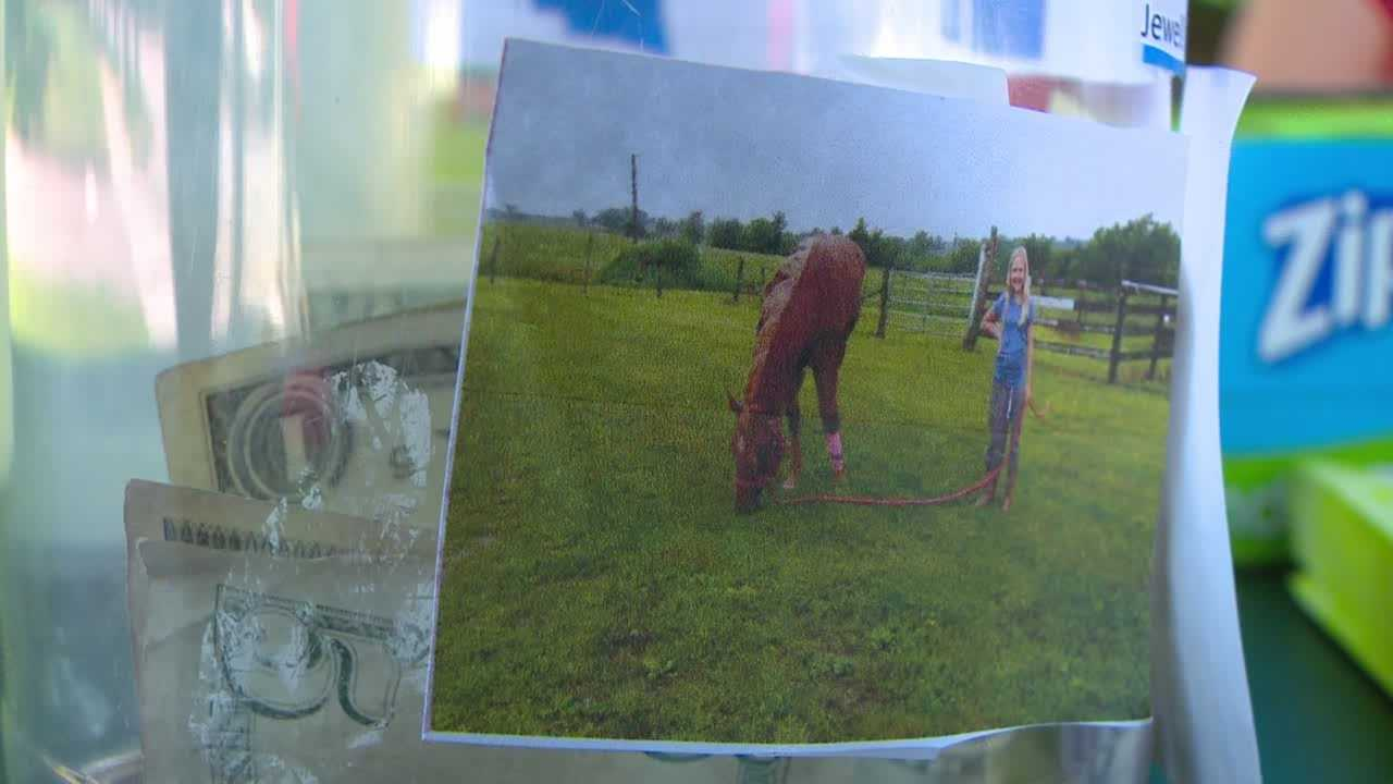 11-year-old raises money to for injured horse