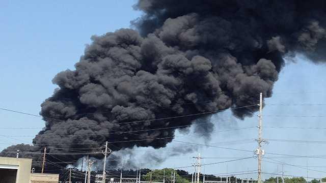 junkyard fire 1