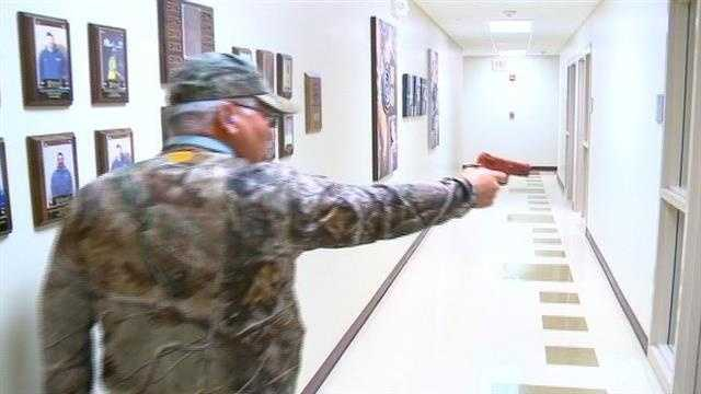 Active shooter training in Waukee