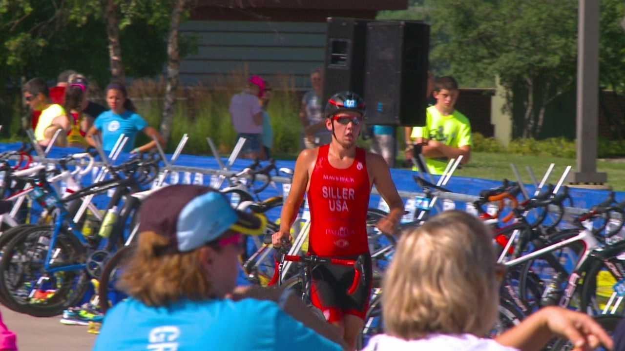 Triathlon cup race