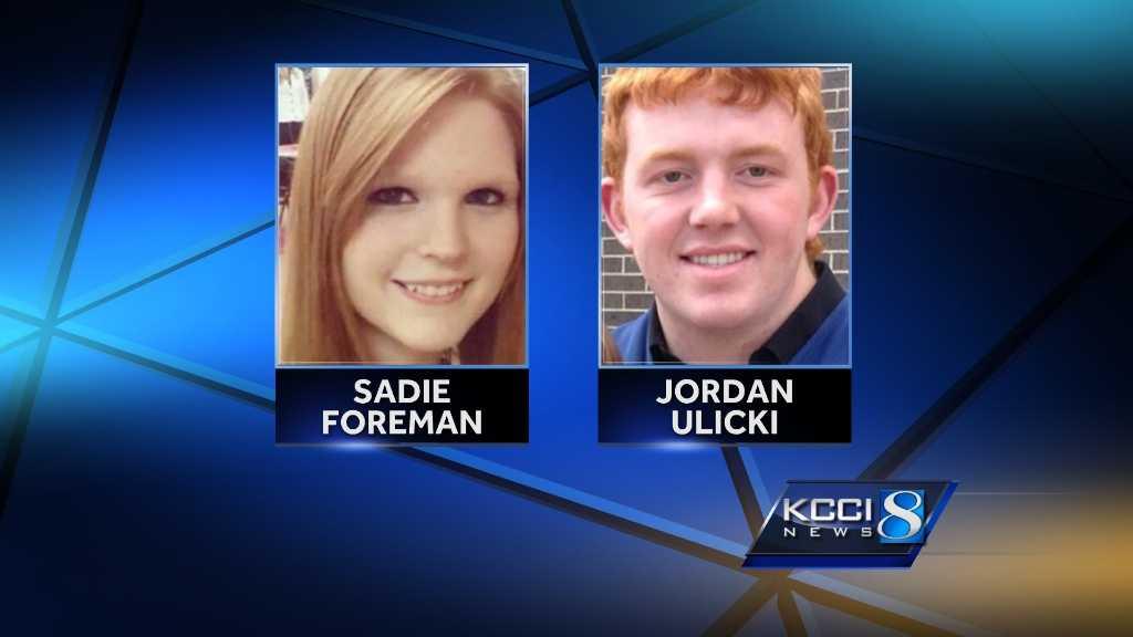 Jordan Ulicki, Sadie Foreman