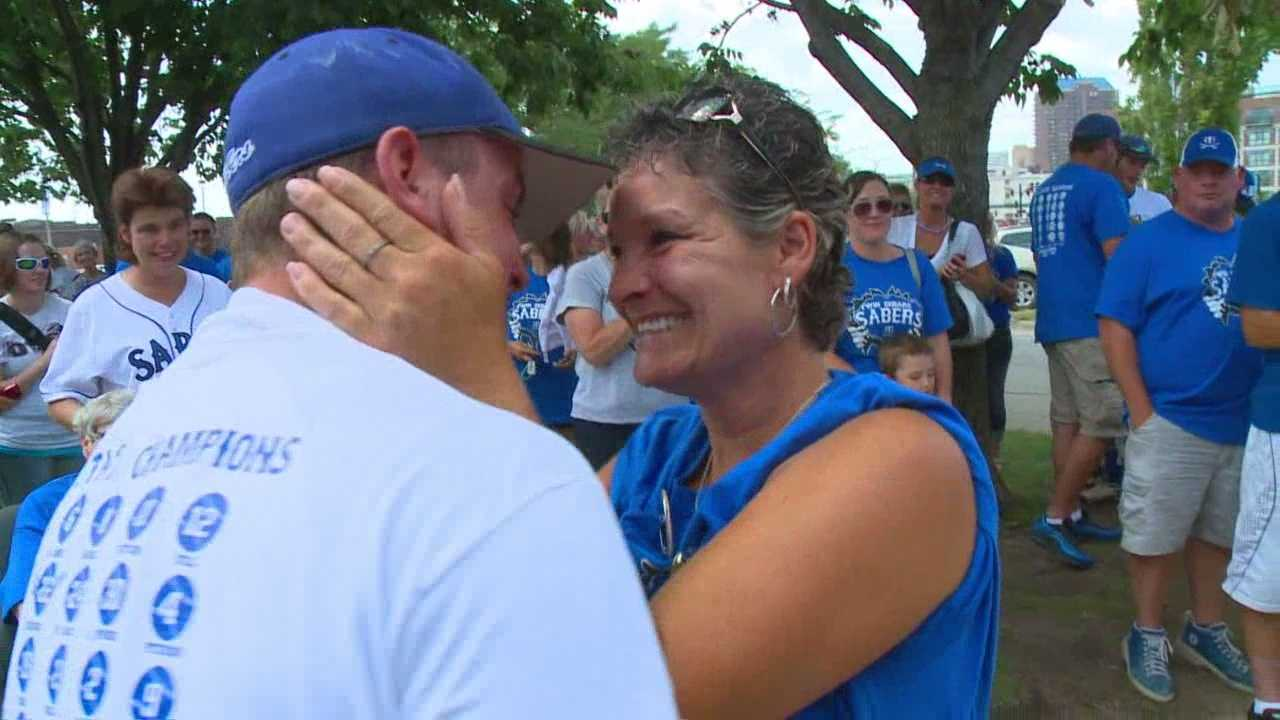The Twin Cedars baseball team capped off a perfect 36-0 season to win the Class 1A state title. But for one Twin Cedars family, it meant so much more.