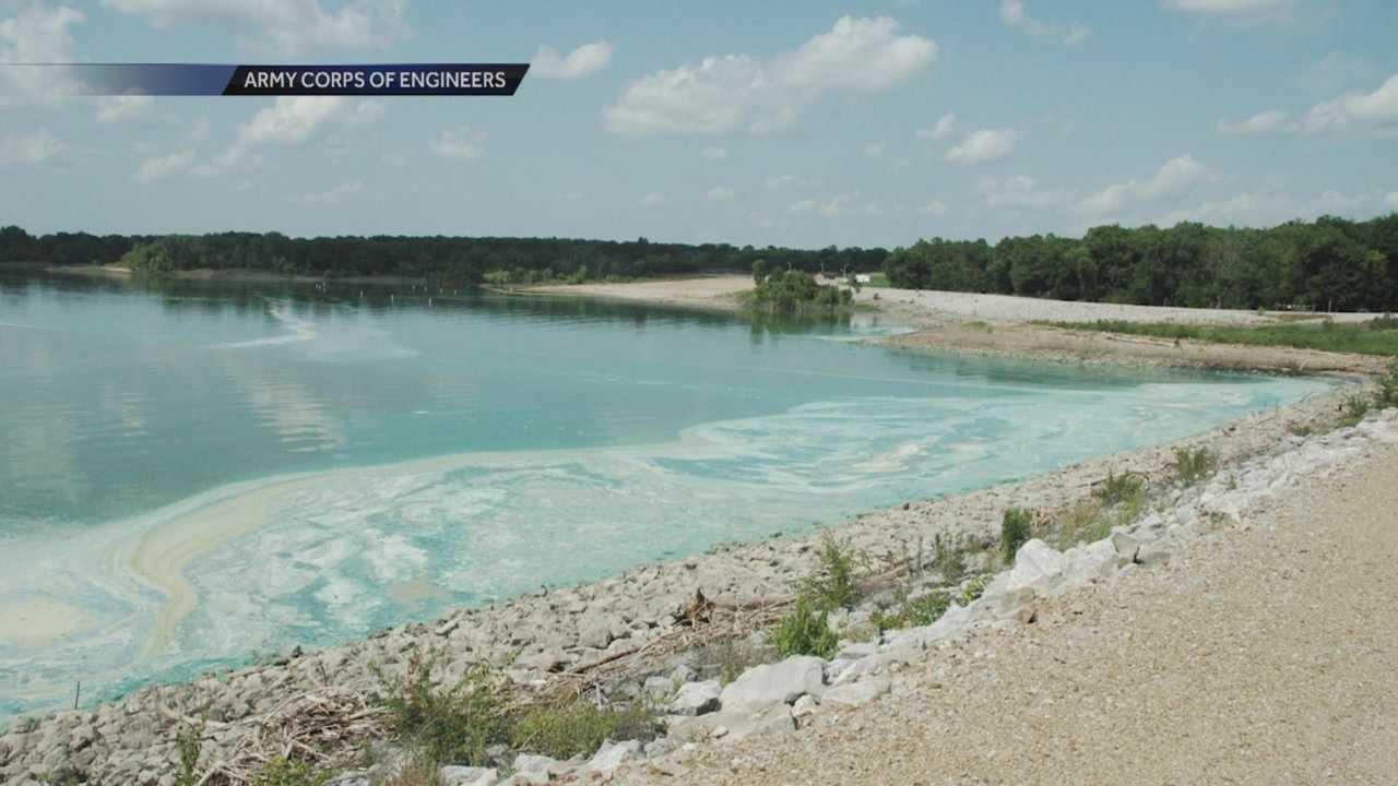 Algae closes lake