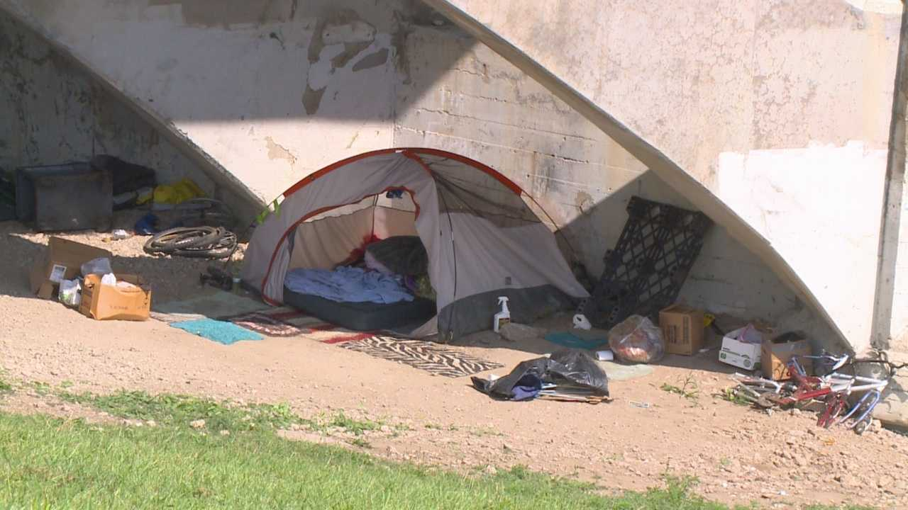 City plans to work with homeless after camps disbanded