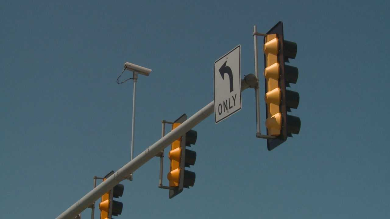 Traffic cameras improve busy intersections