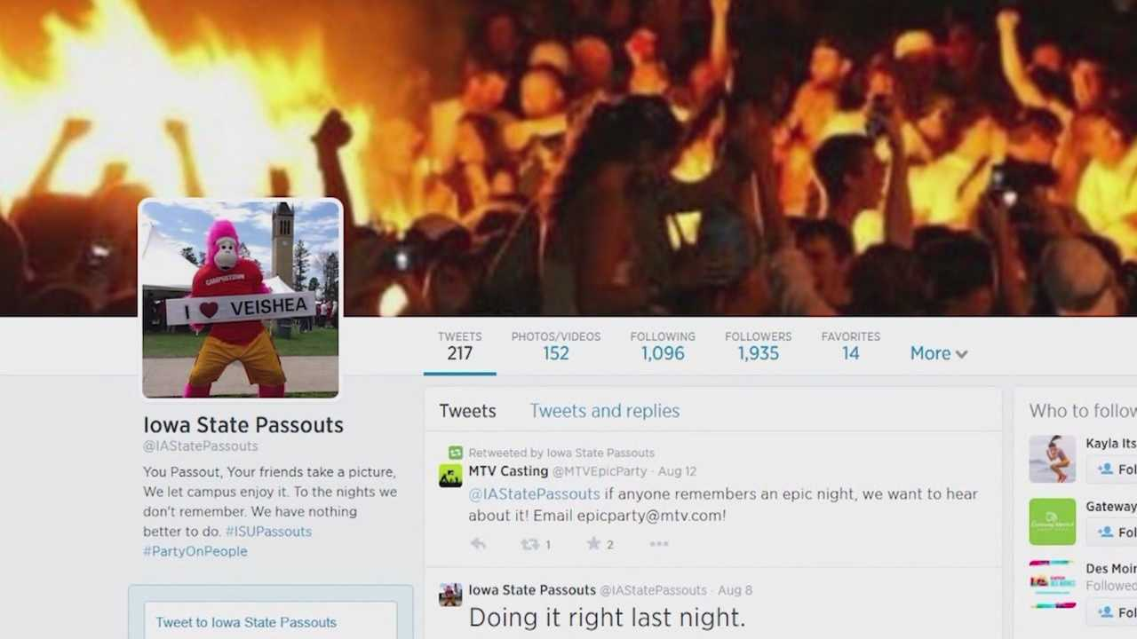 Social media page displays passed out students
